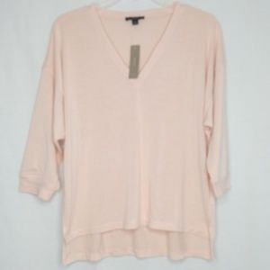 J. Crew NEW Light Pink Medium High / Low Shirt